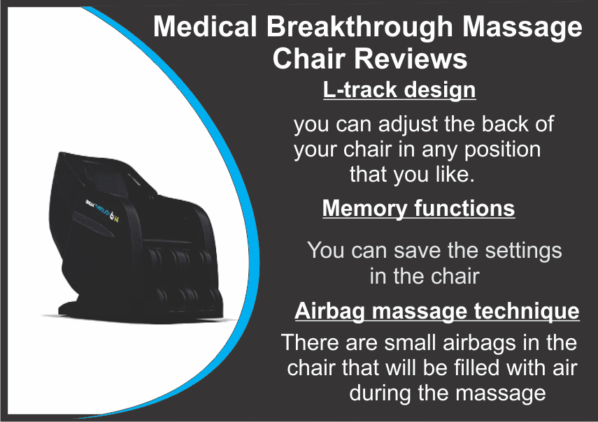 Medical Breakthrough Massage Chair Reviews Massage Chairs